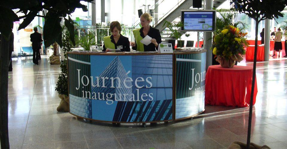 Organisation inauguration nouveaux bâtiments Normandie