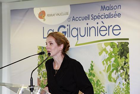 Présence de Nathalie Kosciusko-Morizet, députée de l'Essonne