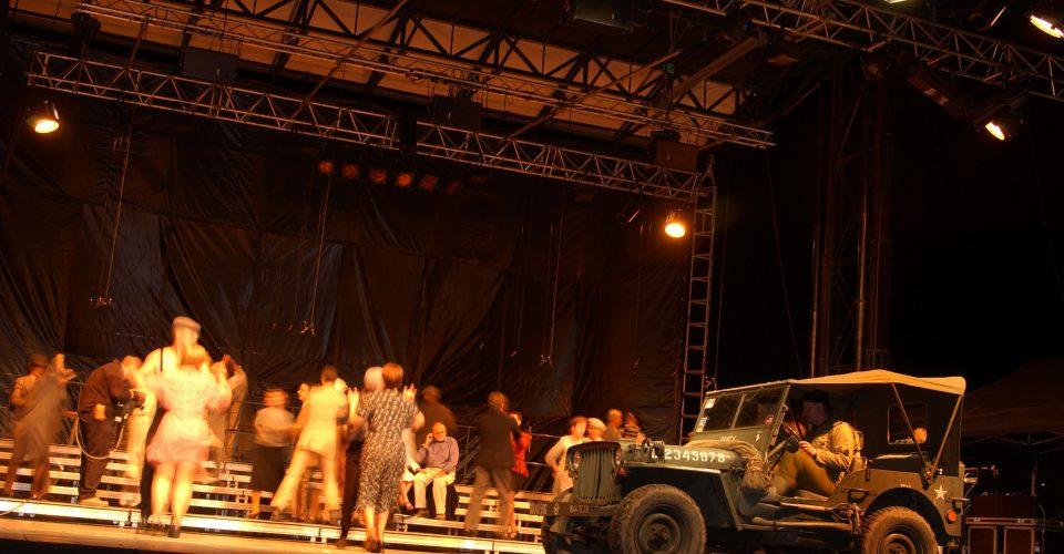création spectacle vivant anniversaire débarquement Normandie