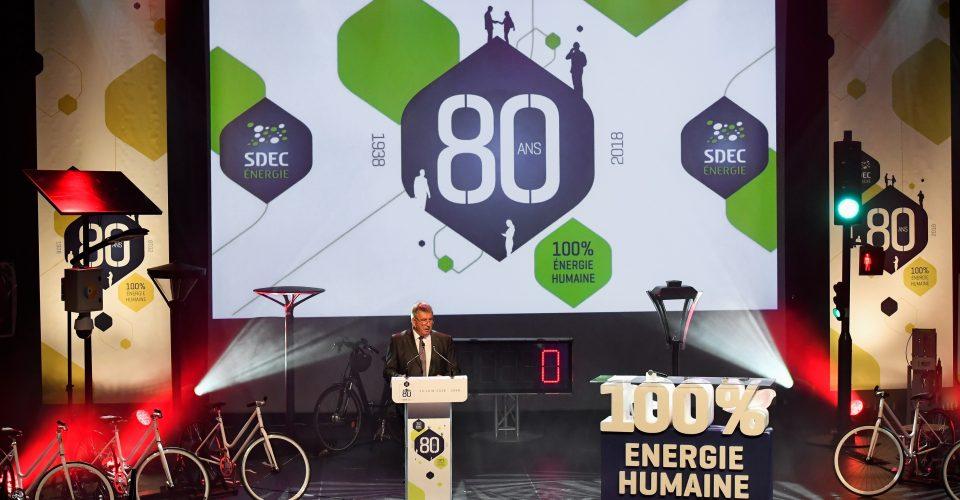 Formule magique concepteur événement 100% énergie humaine anniversaire entreprise SDEC