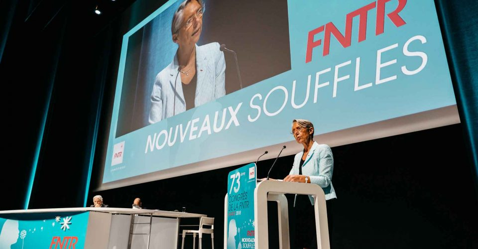 organisateur 73ème congrès FNTR Nouveaux souffles Ministre des transports