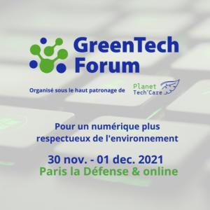 Green tech forum